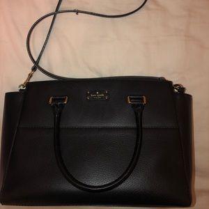 kate spade Bags - Kate Spade Black Leather Handbag